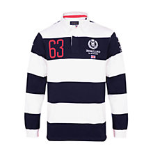 Buy Henri Lloyd Great Britain Round The World Race Rugby Shirt Online at johnlewis.com