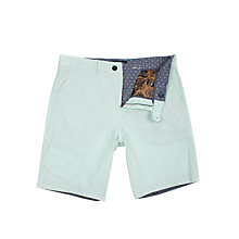 Buy Ted Baker Delacor Fine Stripe Shorts, Blue Online at johnlewis.com