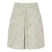 Buy Reiss Pleat Front Skirt, Peppermint Online at johnlewis.com