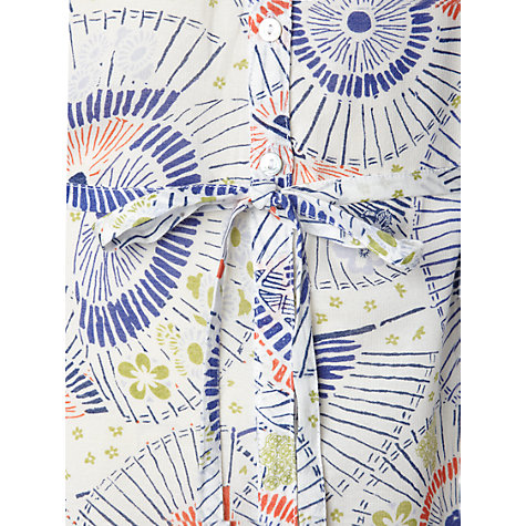 Buy White Stuff Parasol Print Top, Rice Crack Online at johnlewis.com