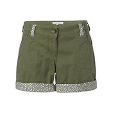 Buy White Stuff Jumping Shorts, Khaki Online at johnlewis.com