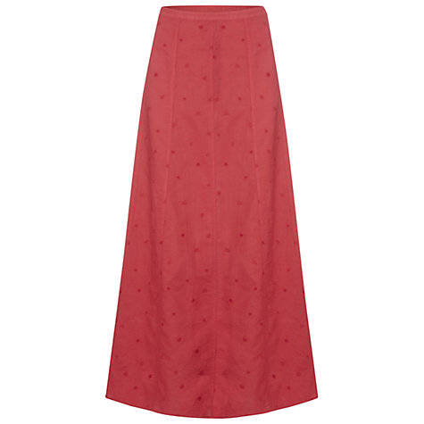 Buy White Stuff Global Mix Skirt, Samurai Red Online at johnlewis.com