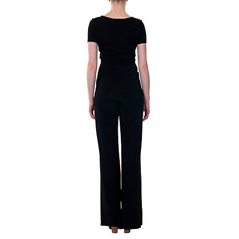 Buy allegra by Allegra Hicks Chloe Top, Black Online at johnlewis.com