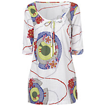 Buy White Stuff Suntrap Kaftan Top, Rice Crack Online at johnlewis.com