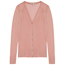 Buy Reiss Mira Micro Modal Cardigan Online at johnlewis.com