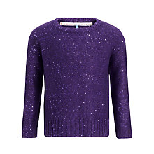 Buy John Lewis Girl Sequin Jumper Online at johnlewis.com