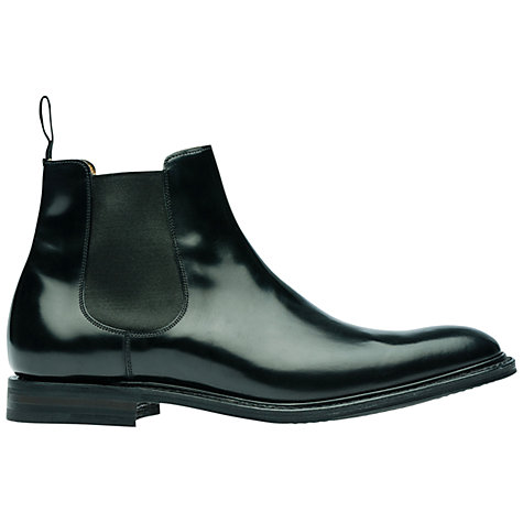 Buy Church's Stockholm R Leather Chelsea Boots, Black Online at johnlewis.com