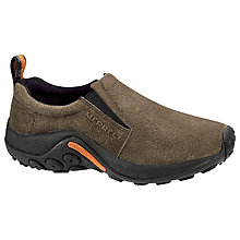 Buy Merrell Jungle Suede Slip-On Shoes, Gunsmoke Online at johnlewis.com