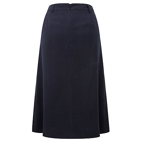 Buy Viyella Tencel Skirt, Indigo Online at johnlewis.com