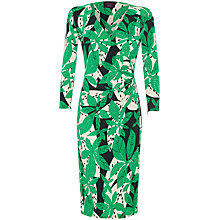 Buy allegra by Allegra Hicks Addison Dress, Leaves Green Online at johnlewis.com