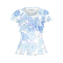 Buy Jacques Vert Summer Print Floral Blouse Online at johnlewis.com