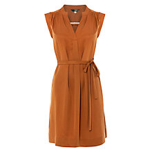 Buy NW3 by Hobbs Isabel Dress, Golden Syrup Online at johnlewis.com