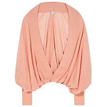 Buy Reiss Batwing Draped Cover Up Online at johnlewis.com