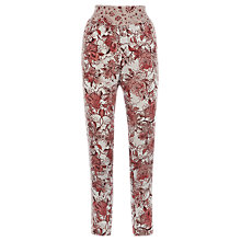 Buy Warehouse Paisley Print Trousers, Multi Online at johnlewis.com