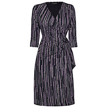 Buy James Lakeland Side Knot Dress, Purple Online at johnlewis.com