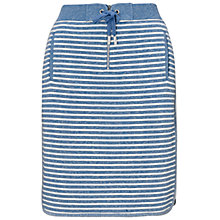 Buy Whistles Milly Striped Skirt, Blue Online at johnlewis.com