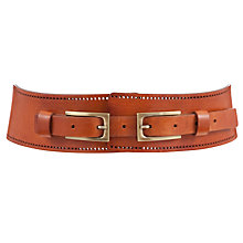Buy Somerset by Alice Temperley Double Buckle Leather Belt Online at johnlewis.com