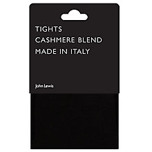 Buy John Lewis Viscose and Cashmere Blend Opaque Tights Online at johnlewis.com