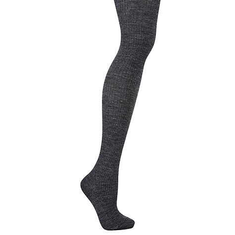 Buy John Lewis Wool Ribbed Tights Online at johnlewis.com