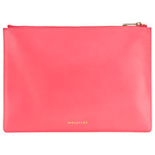 Buy Whistles Delilah Pouch, Pink Online at johnlewis.com