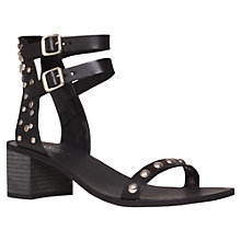 Buy Carvela Kad Sandals, Black Online at johnlewis.com