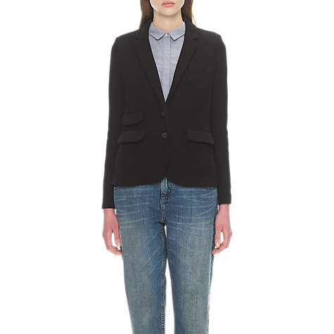 Buy Whistles Lena Double Face Jersey Jacket Online at johnlewis.com