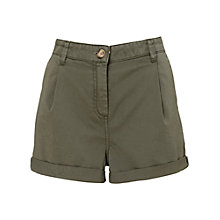 Buy Whistles Ally Shorts, Khaki Online at johnlewis.com