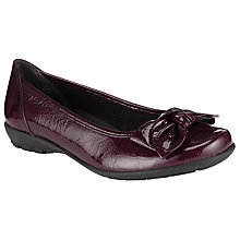 Buy Gabor Glitz Patent Pumps, Vino Online at johnlewis.com