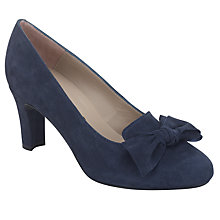 Buy Unisa Oban Heels, Navy Online at johnlewis.com