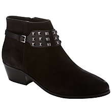 Buy Collection WEEKEND by John Lewis Tutan Studded Ankle Boots, Black Online at johnlewis.com