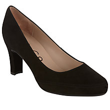 Buy Unisa Obert Court Shoes, Black Online at johnlewis.com