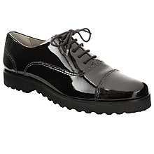 Buy John Lewis Malmo Platform Lace-Up Shoe, Black Online at johnlewis.com