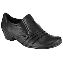 Buy Gabor Emerge Court Shoes, Black Online at johnlewis.com