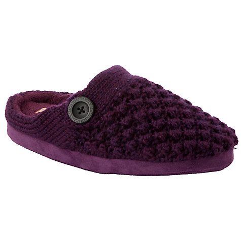 Buy John Lewis Ludwig Knitted Mule Slippers Online at johnlewis.com