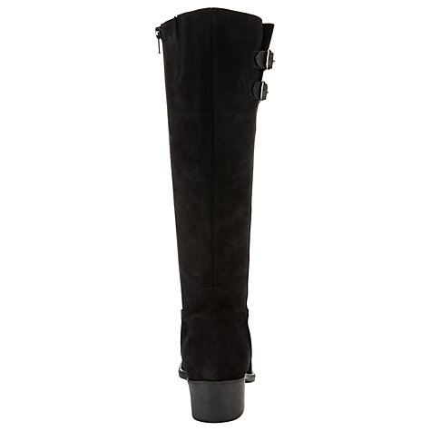 Buy John Lewis Terry Wider Fit Calf Boots, Black Online at johnlewis.com