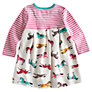 Buy Baby Joule Hayley Pony Print Dress, Multi Online at johnlewis.com