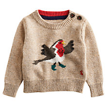 Buy Baby Joule Robin Jumper, Oatmeal Online at johnlewis.com