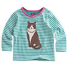 Buy Baby Joule Bess Cat Long Sleeved Top, Multi Online at johnlewis.com