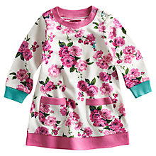 Buy Baby Joule Lizzie Floral Print Dress, Pink Online at johnlewis.com