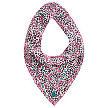 Buy Baby Joule Ditsy Print Bib, Multi Online at johnlewis.com