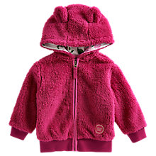 Buy Baby Joule Constance Teddy Fleece, Ruby Online at johnlewis.com