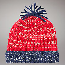 Buy John Lewis Beanie Hat, Red Online at johnlewis.com