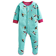 Buy Baby Joule Razmataz Sleepsuit, Aqua Online at johnlewis.com