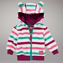 Buy Baby Joule Constance Striped Fleece, Multi Online at johnlewis.com
