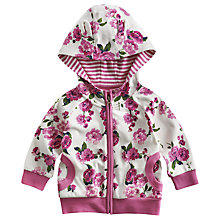 Buy Baby Joule Francie Floral Jumper, Pink Online at johnlewis.com
