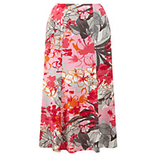 Buy CC Stencil Floral Skirt, Multi Online at johnlewis.com
