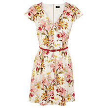 Buy Oasis Botanical Iris Dress, Multi Online at johnlewis.com