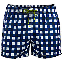 Buy Bjorn Borg Check Swim Shorts Online at johnlewis.com