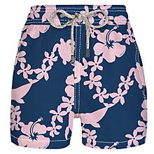 Buy Vilebrequin Moorea Boys' Turtle Dolphin Flower Swim Shorts Online at johnlewis.com