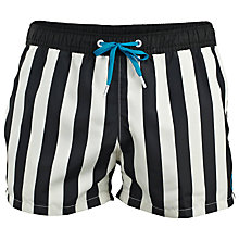Buy Björn Borg Stripe Swim Shorts Online at johnlewis.com